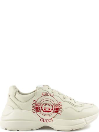 Gucci Ivory Rhyton Sneaker