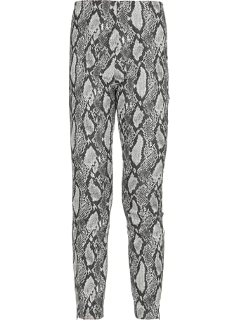 Alice + Olivia Animalier Trousers
