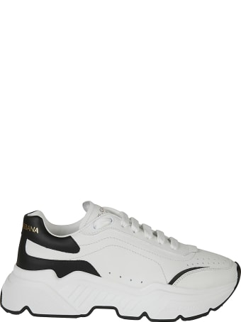 Dolce & Gabbana Back Logo Lace-up Sneakers