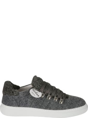 Hogan Wintery Stitching Sneakers