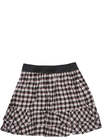 Eleven Paris Checked Skirt