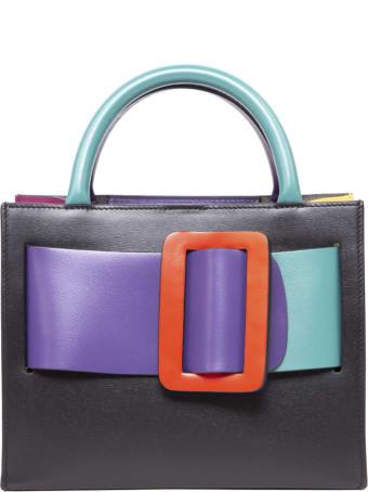 BOYY Bobby 23 Color Block Leather Handbag