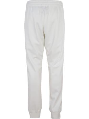 Moschino Metallic Logo Print Track Pants