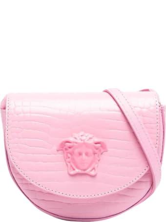 Young Versace Shoulder Bag With Medusa Logo