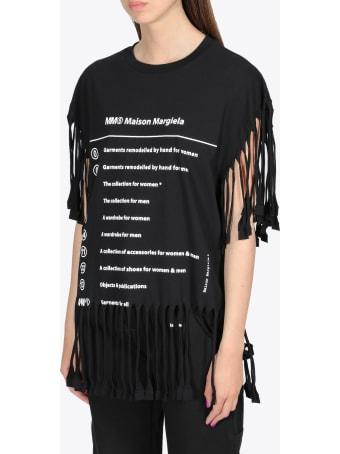 MM6 Maison Margiela Fringed T-shirt