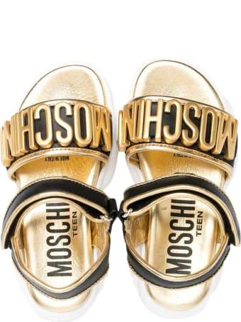 Moschino Black Sandals