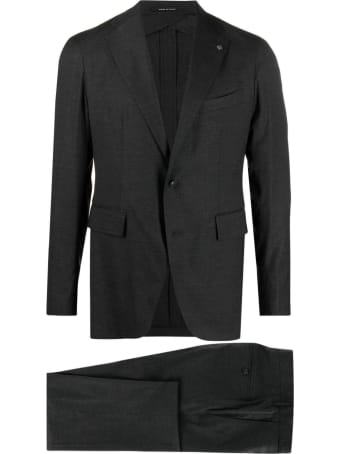 Tagliatore Jacket And Trousers Suit In Virgin Wool