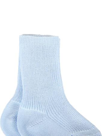 Story loris Light Blue Socks For Babyboy