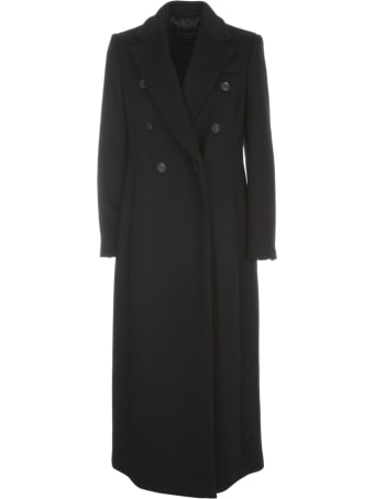 Emporio Armani Long Double Breasted Coat
