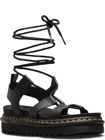 Dr. Martens Black Leather Nartilla Sandal