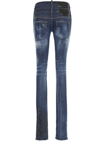 Dsquared2 Worn-out Details Jeans