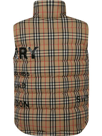 Burberry House-check Gilet