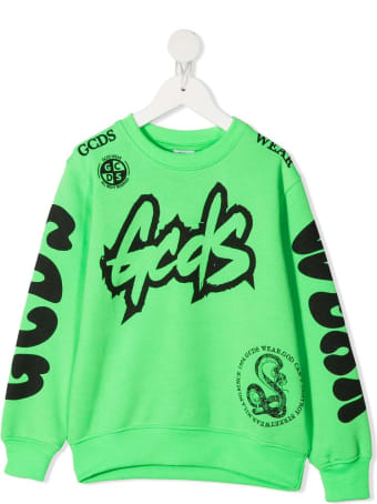 GCDS Mini Logo Print Sweatshirt