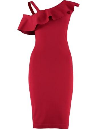 D.Exterior Jersey Sheath Dress