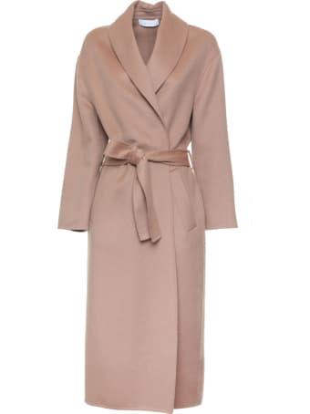 Kaos Kaos Beige Wrap Long Coat