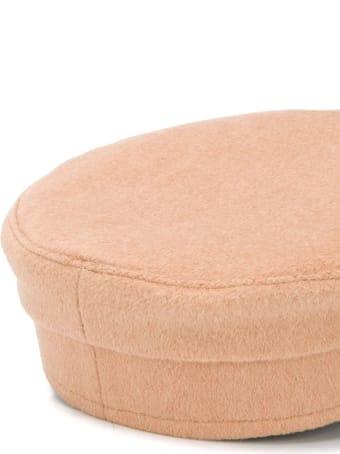 Ruslan Baginskiy Baker Boy Hat In Wool Cloth