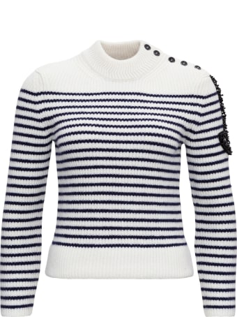 Patou Sweater With Side Logo Detail