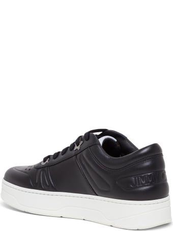 Jimmy Choo Hawaii Sneakers In Leather