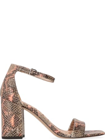 Sam Edelman Daniella Heeled Leather Sandals