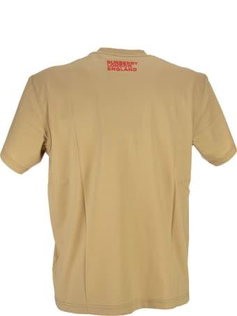 Burberry Axton - Love Print Cotton Oversized T-shirt