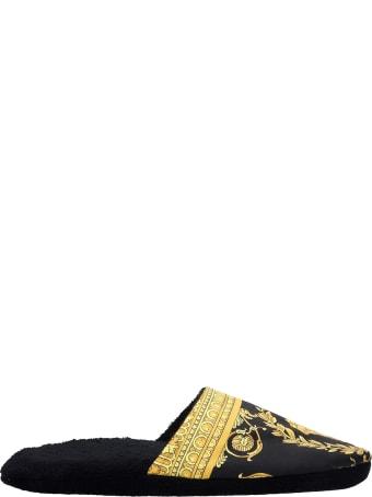 Versace Lingerie In Black Sponge