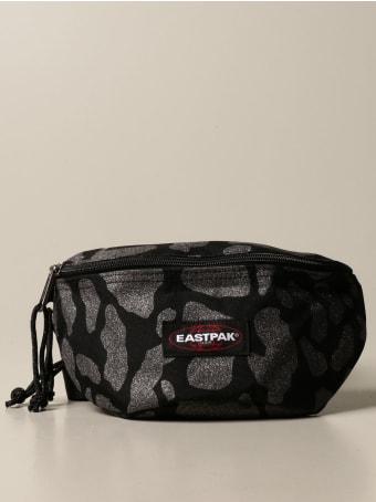 Eastpak Bags Eastpak Belt Bag In Animalier Canvas With Lurex
