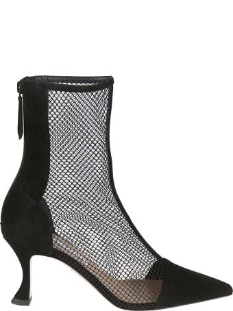 Aquazzura Saint Honore Mesh Boots