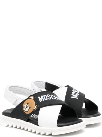 Moschino Crossover Sandals With Tear