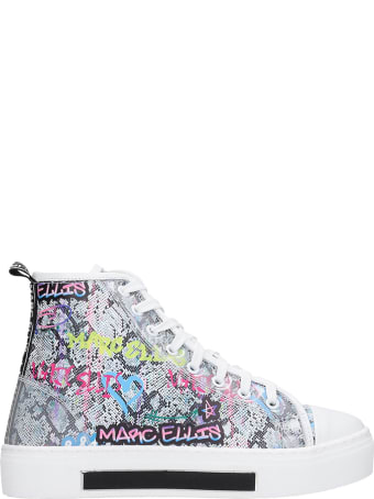 Marc Ellis Sneakers In Multicolor Leather