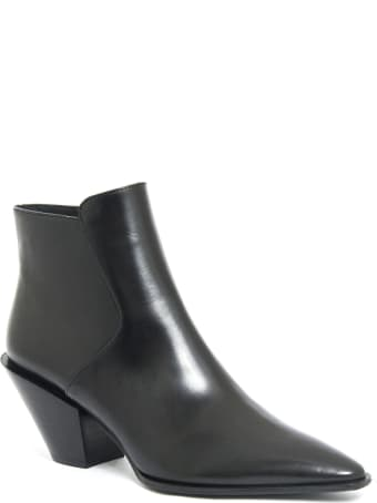 Roberto Festa Frediana Ankle Boot In Black Leather