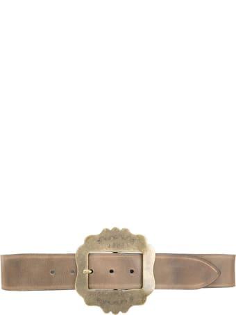 Isabel Marant Beige Cow Leather Belt