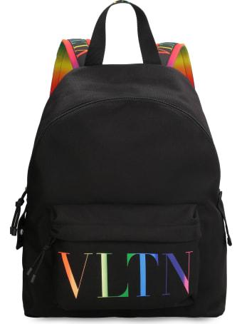Valentino Valentino Garavani - Logo Detail Nylon Backpack