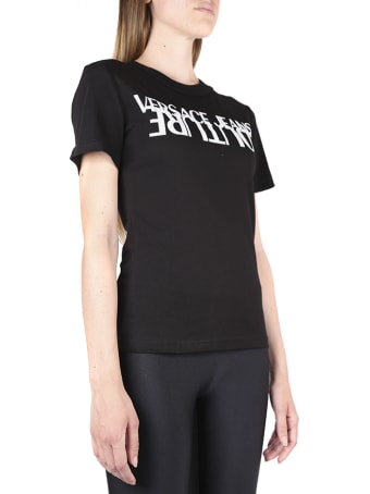 Versace Jeans Couture Cotton T-shirt With Print