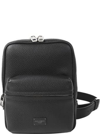 Dolce & Gabbana Black Palermo Backpack Small