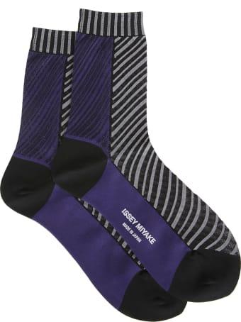 Issey Miyake Multicolored Socks
