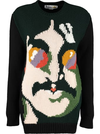 Stella McCartney 'all Together Now' Virgin Wool Sweater