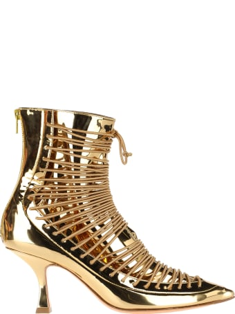 Y/Project Lace-up Ankle Boots