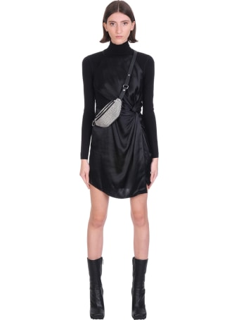 T by Alexander Wang Dress In Black Silk