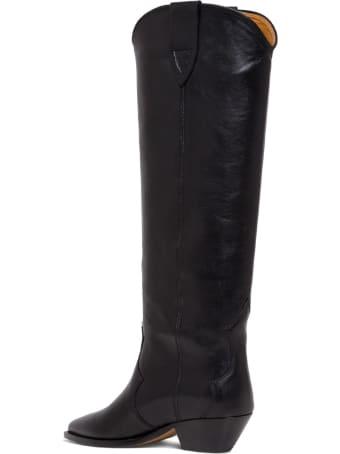 Isabel Marant Leather Denvee Camperos