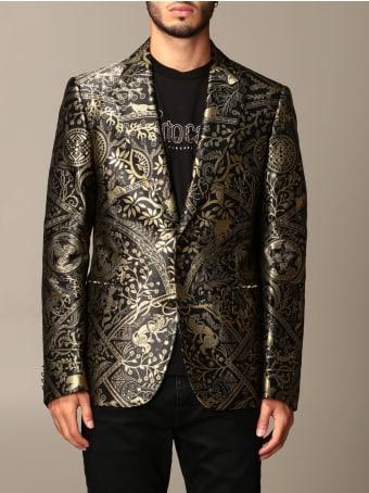 Roberto Cavalli Blazer Roberto Cavalli Drop 8 Jacquard Jacket