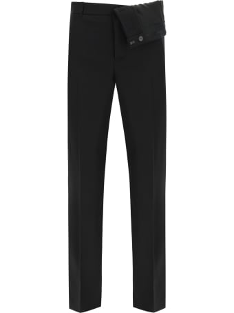 Y/Project Trousers With Asymmetric Waist