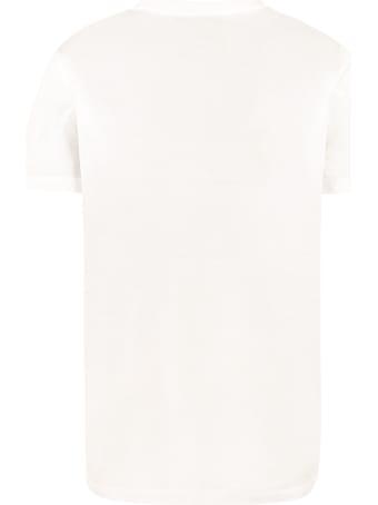 Prada Cotton Crew-neck T-shirt