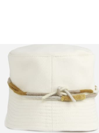 Ruslan Baginskiy Cotton Bucket Hat With Embroidered Logo