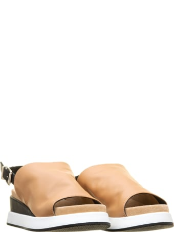 Tosca Blu Tosca Blu Sandals Maui Brown Leather