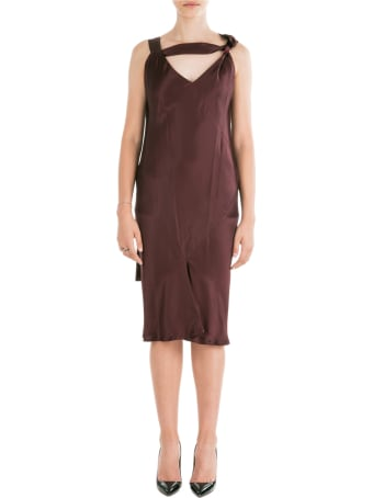 Neil Barrett  Knee Length Dress Sleeveless Slim Fit