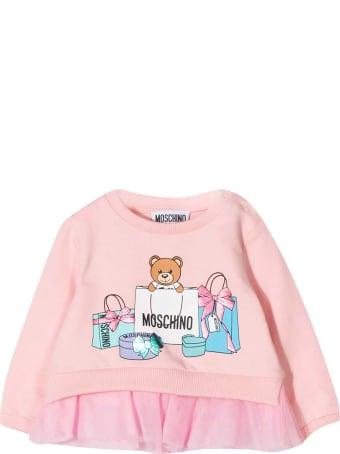 Moschino Pink Sweatshirt