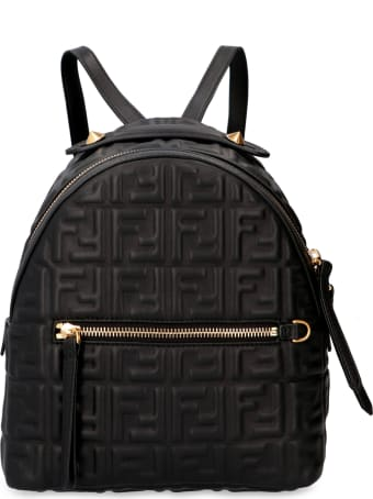 Fendi Mini Leather Backpack