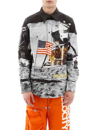 Calvin Klein Moon Landing Western Shirt