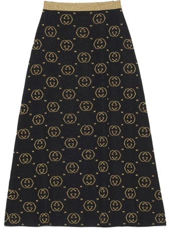Gucci 'gg Interlocking' Skirt