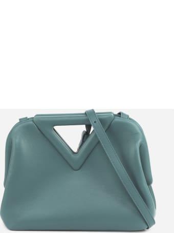 Bottega Veneta Small Point Bag In Leather